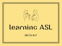 Learning ASL Mixer Logo