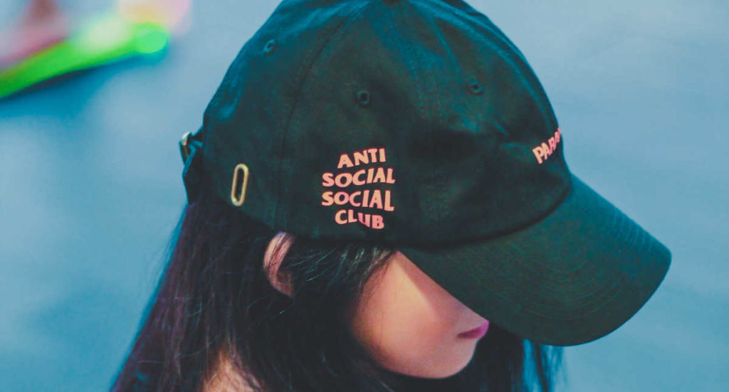girl with hat about being anti-social